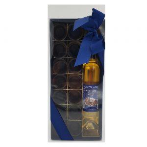 Bicchierini di cioccolato con grappa al Moscato